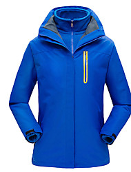 cheap -Women's Hiking Jacket Winter Outdoor Waterproof Windproof Warm Comfortable Jacket Top Climbing Camping / Hiking / Caving Traveling Black / Orange / Navy Blue / Royal Blue / Red