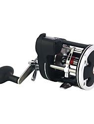 cheap -Fishing Reel Baitcasting Reel 3.8:1 Gear Ratio+12 Ball Bearings Right-handed / Left-handed Sea Fishing / Spinning / Carp Fishing