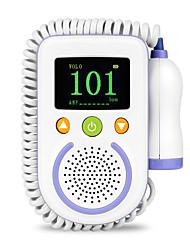 cheap -A100D  Digital Fetal Doppler Ultrasound Sound Baby Heartbeat Detector Monitor Rechargeable Prenatal Pocket Fetal Doppler Stethoscope
