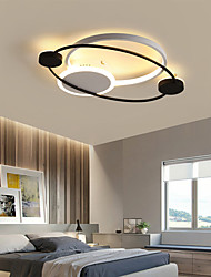 cheap -1-Light Led ceiling light master bedroom light simple modern ins style dining room light 33W