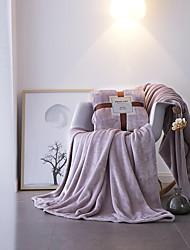 cheap -Bed Blankets / Children's Blankets / Multifunctional Blankets, Solid Colored / Dot Velvet Warmer Super Soft Blankets