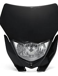 cheap -1pcs 12V 35W Motorcycle H4 Headlight Fairing Kit Dirt Bike Off-Road Headlamp Light Universal - Black