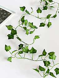 cheap -5PCS Creeper Ivy Leaf Flexible String Lighting 2M 20Leds Copper Wire Garland Led String AA Battery Power Christmas Holiday Lights (come without battery)