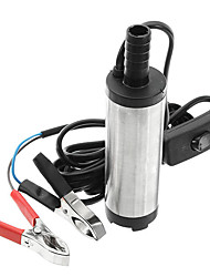 cheap -12V/24V Electric Diesel Pump Fuel Water Oil Portable Stainless Steel Diesel Pump - 12V
