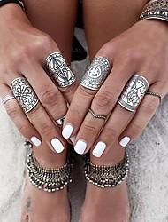 cheap -Ring Set Silver Alloy 4pcs / Women's