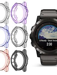 Недорогие -применимо к Garmin Fenix 5x Smart Watch случае ТПУ конфеты прозрачные часы защиты