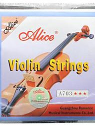 cheap -Alice - (A703) Steel Core Violin Strings
