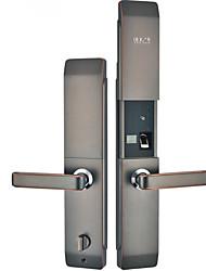 cheap -Factory OEM T69 Zinc Alloy / Aluminium alloy lock / Fingerprint Lock / Intelligent Lock Smart Home Security Android System Fingerprint unlocking / Password unlocking Home / Office / Hotel Wooden Door