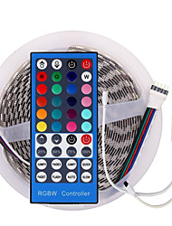 cheap -LED 12V SMD 5050 RGBW/RGBWW LED Strip Lights LED Tape Multi-colors with 40Keys Remote 300 LEDs Non-waterproof Light Strips Color Changing Pack of 5m Strips