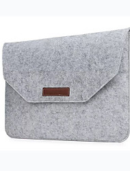 cheap -Fashion Wool Felt Laptop Sleeve Bag Notebook Handbag Case For Macbook Air Pro Retina 11 13 15 Inch Laptop Liner Bag
