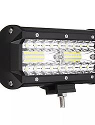 cheap -1pcs 7 Inch Tri Row 40W LED Work Light Bars Flood Spot Combo Beam IP68 6000K for Off Road Truck SUV