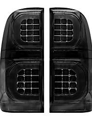 cheap -pair Left / Right Smoked LED Car Tail Brake Light For TOYOTA HILUX VIGO MK7 SR5 2004-2015