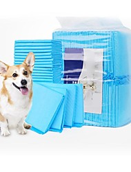 cheap -Dog Training Pet Training and Puppy Pads Portable Foldable Dog Breathable Soft Safety Nonwoven Behaviour Aids For Pets