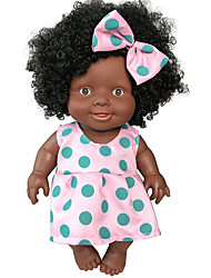cheap -Reborn Doll Baby Girl 10 inch Cute Adorable African American Kid's Unisex Toy Gift