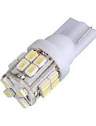 cheap -1pcs T10 W5W 194 Car White 20 SMD LED Side Light Bulb 12V