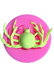 cheap -Halloween Spider Silicone Mold Fondant Cake Decorating DIY Sugar Craft Chocolate Gumpaste Molds Resin Clay Kitchen Baking Tools
