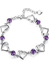 cheap -Women's Bracelet Classic Mini Fashion Silver-Plated Bracelet Jewelry Silver For Daily