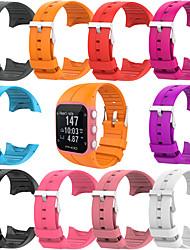 abordables -Bracelet en caoutchouc de silicone souple pour montre de remise en forme polaire m400 m430