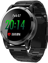 cheap -Smartwatch Digital Modern Style Sporty Silicone 30 m Water Resistant / Waterproof Heart Rate Monitor Bluetooth Digital Casual Outdoor - Black Black / Gray Black / Red