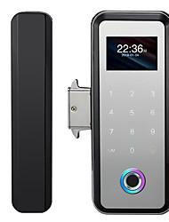 cheap -Factory OEM D99F Zinc Alloy Fingerprint Lock / Password lock Smart Home Security Android System Fingerprint unlocking / Password unlocking Home / Office / Hotel Glass Door (Unlocking Mode Fingerprint