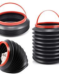 cheap -Auto Trash Can Receive Multi-Function Folding Plastic Bucket Storage Barrel