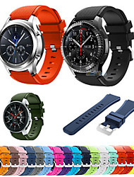 cheap -22mm Silicone Sport Strap For Samsung Galaxy Watch 46mm Gear S3 Frontier / Classic