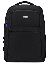 cheap -15.6 Inch Laptop / 17 Inch Laptop Commuter Backpacks Nylon Fiber / Polyester Solid Color Unisex Water Proof Shock Proof