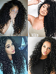 cheap -3 Bundles with Closure Hair Weaves Peruvian Hair Deep Wave Human Hair Extensions Remy Human Hair 100% Remy Hair Weave Bundles 345 g Natural Color Hair Weaves / Hair Bulk Human Hair Extensions 8-24