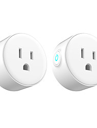 cheap -2 Pack Smart Plug  for Living Room / Study / Bedroom APP Control / Timing Function / Smart WIFI 110-150 V Smart Sokcet two Pack-US PLUG