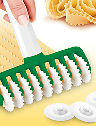 cheap -Noodle Cutter Cake Cutting Easy Use Non Stick Reusable Pasta Dough Biscuit Cookie Roller Docker Pie Kitchen Tools