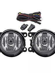 cheap -2pcs Car Front Bumper Fog Lights with H11 Lamps Harness Pair for Mitsubishi Outlander Sport/RVR/ASX