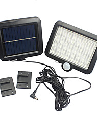 cheap -Solar Power Wall Light Outdoor Motion Sensor Light 5W 56 LED Securtiy Night Light Separable Solar Panel Light 1pc Light 1pc solar panel