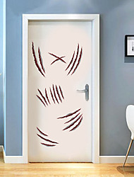 cheap -Halloween Decorations Wall Stickers Plane Wall Stickers Door Stickers, PVC Home Decoration Wall Decal Window Decoration 1pc