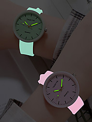 cheap -Women's Quartz Watches Analog Quartz Fashion Creative Luminous Noctilucent / One Year / Stainless Steel / Silicone