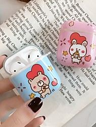 cheap -AirPods Case Lovely  Pattern Shockproof Protective  Cover Portable For AirPods1  AirPods2 (AirPods Charging Case Not Included)