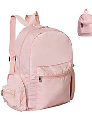 cheap -Large Capacity Polyester Zipper Commuter Backpack Solid Color School Black / Blushing Pink / Navy Blue