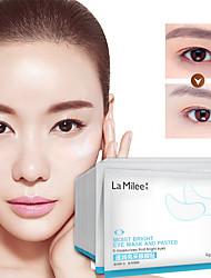 abordables -10packs10pairs cristal collagène masque pour les yeux masque de paupière en cristal anti-rides humidité sous le contour des yeux cercle noir dissolvant pour les yeux
