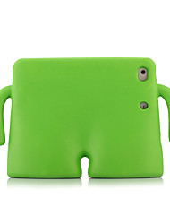 cheap -Case For Apple iPad Mini 3/2/1 / iPad Mini 4 / iPad Mini 5 Shockproof / with Stand Back Cover Solid Colored Silica Gel