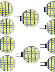 cheap -10pcs 2.5 W LED Bi-pin Lights 320 lm G4 G5 24 LED Beads SMD 2835 9-30 V