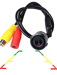 cheap -ZIQIAO Universal HD CCD Night Vision Waterproof 18.5mm Car Reversing Rear View Camera