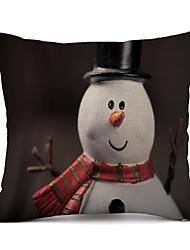 cheap -1 pcs Polyester Pillow Cover, Art Deco Christmas Cartoon Leisure Travel Pillow