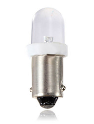 cheap -1pcs Xenon White Side Light Bulb LED 233 BA9S T4W 1YR