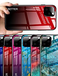 Недорогие -чехол для яблока iphone 11 11 про 11 зеркало pro max чехлы для всего тела цветовой градиент тпу закаленное стекло хз макс хр хз х 8 8 плюс 7 7 плюс 6 6 плюс 6 с 6 сплюс