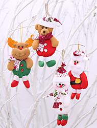 cheap -4Pcs Creative Cartoon Cute Hanging Christmas Stockings / Holiday Decorations New Year's