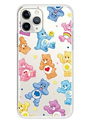 cheap -Case For Apple iPhone 11 / iPhone 11 Pro / iPhone 11 Pro Max Ultra-thin / Transparent / Pattern Back Cover Animal / Cartoon TPU