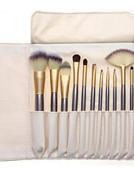 cheap -Professional Makeup Brushes 12pcs Soft New Design Comfy Wooden / Bamboo for Makeup Brush