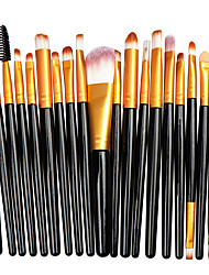 cheap -La Milee 20Pcs Makeup Brushes Set Eye Shadow Foundation Powder Eyeliner Eyelash Lip Make Up Brush Cosmetic Beauty Tool Kit Hot