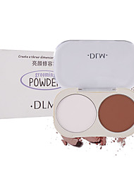 cheap -2 Colors Dry Waterproof / Long Lasting / Pore-Minimizing Universal / Daily / Cosmetic # Traditional / Fashion Waterproof / lasting Party / Halloween / Birthday Powder Makeup Cosmetic Dry