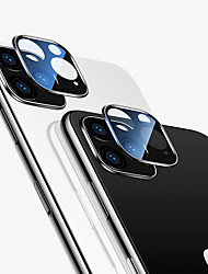 cheap -Tempered Glass For IPhone 11 Pro Max Black Full Coverage Tempered Glass Camera Lens Screen Protector For IPhone 11 2019 Black Full Cover Protective Glass Film