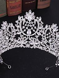 cheap -Alloy Tiaras / Headdress / Headpiece with Sparkling Glitter / Glitter 1pc Wedding Headpiece
